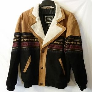 Casual Outfitters bomber style western jacket